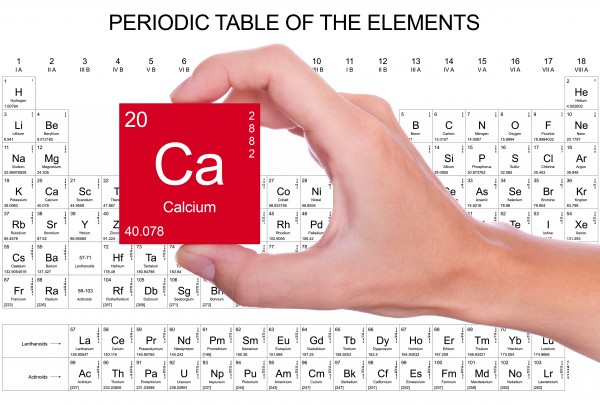 Calcium ca essential for plant growth and development age old calcium symbol handheld over the periodic table urtaz Gallery