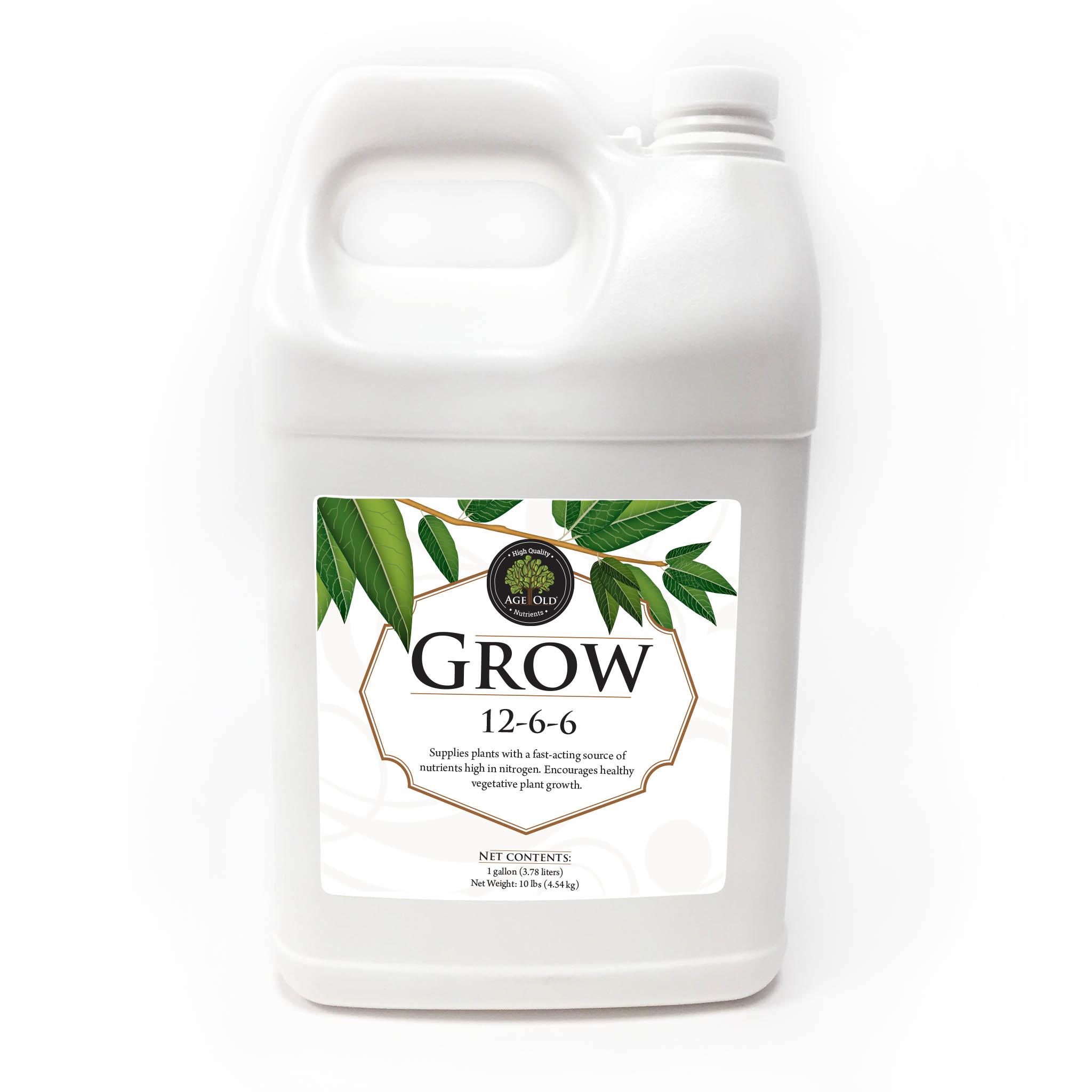 bottle of Grow