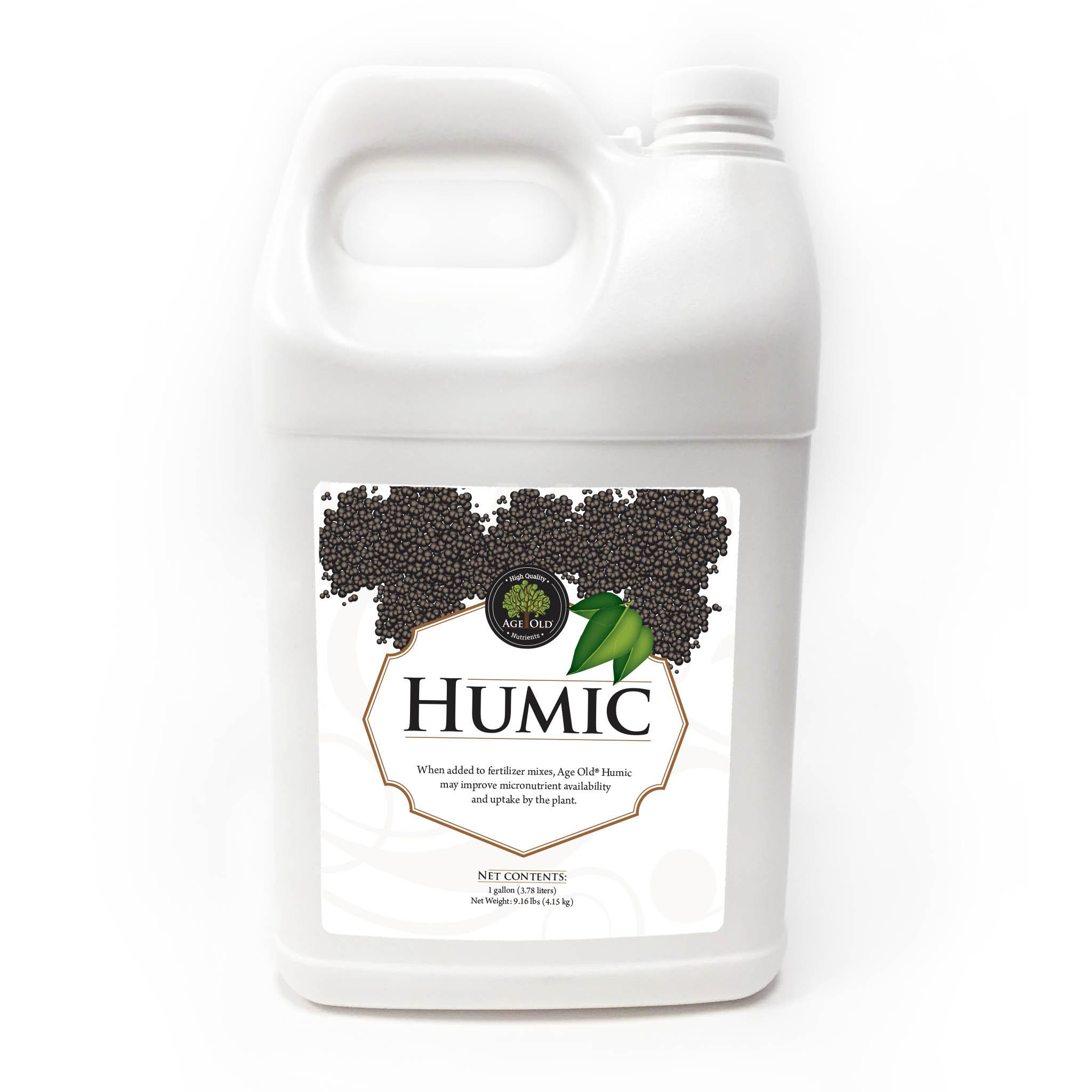 bottle of Humic