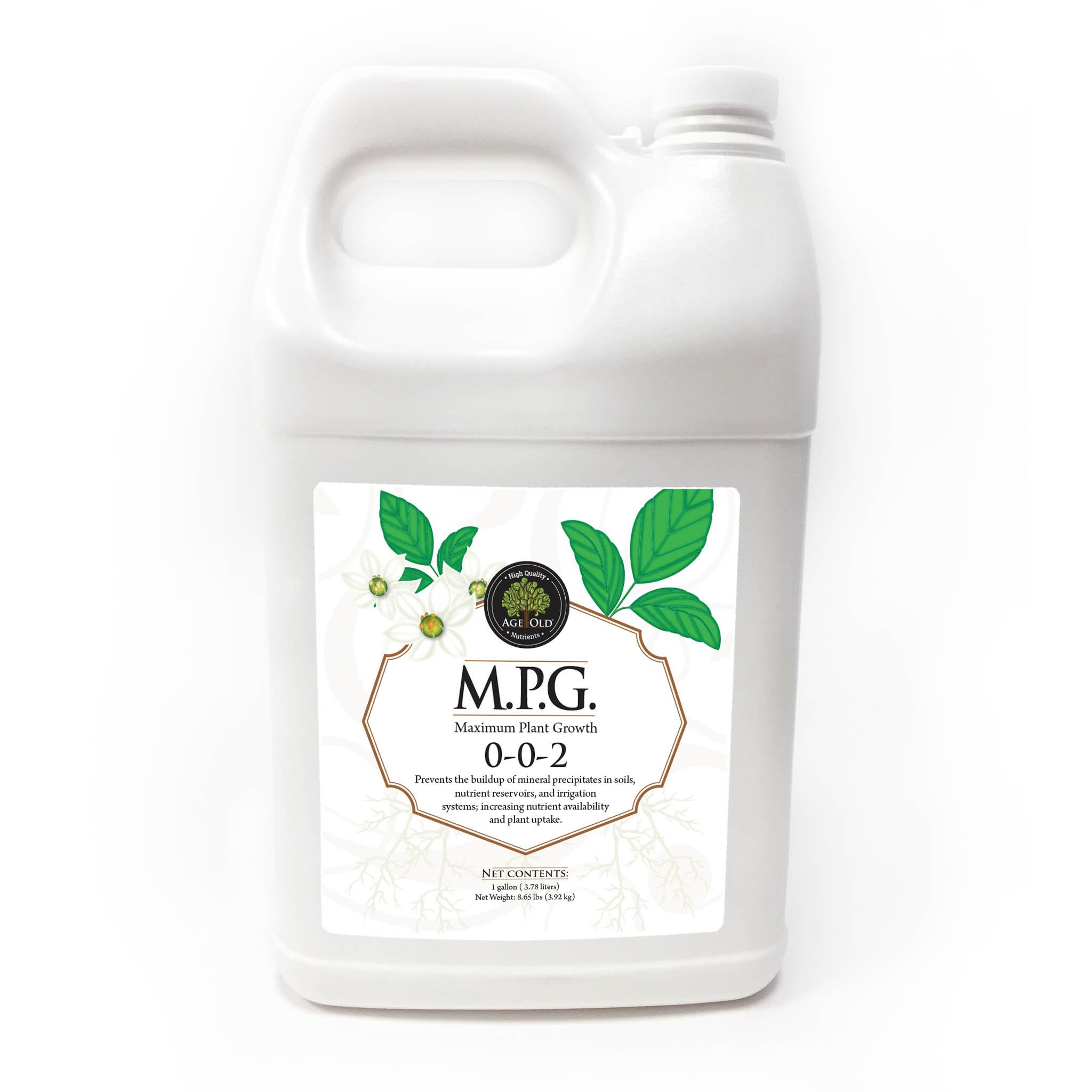bottle of M.P.G