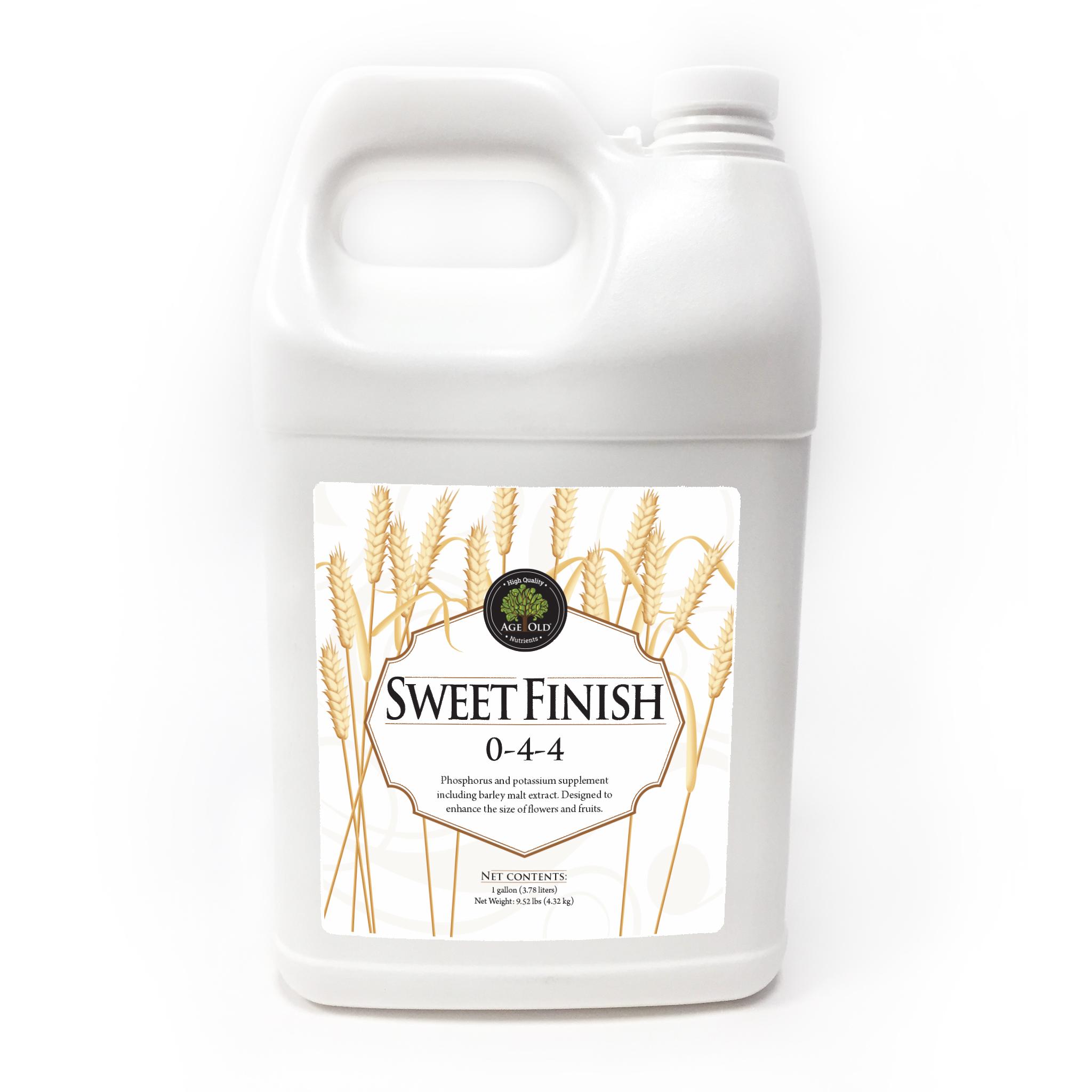 bottle of sweet finish