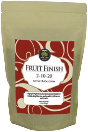 bag of Fruit Finish